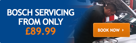Bosch Servicing from only £119.99