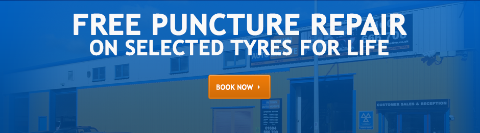 Free Replacement on Selected Tyres For Life